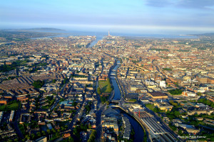 Dublin City by PETER BARROW