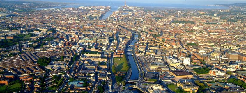 Dublin City by PETER BARROW